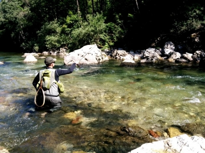 Pesca a mosca alla trota marmorata, inizio stagione...